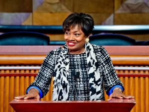 LWV Ap 21 Luncheon Features NY State Senator Andrea Stewart-Cousins